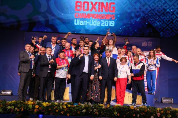 Russia topped the medal table at the Women's World Boxing Championships ©RBF