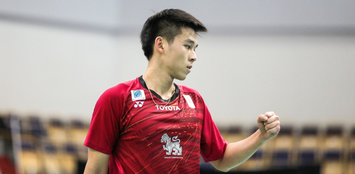 Vitidsarn ready for step up to senior level after victory at BWF World Junior Championships