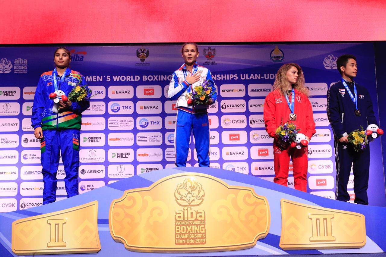 Russia collected three gold medals on the final day of the AIBA Women's World Boxing Championships ©AIBA