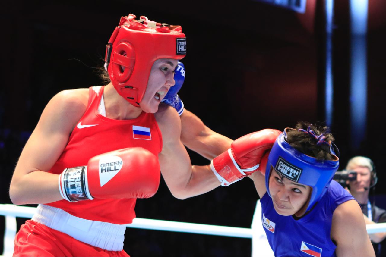 Liudmila Vorontsova was the only Russian boxer who failed to top the podium ©AIBA