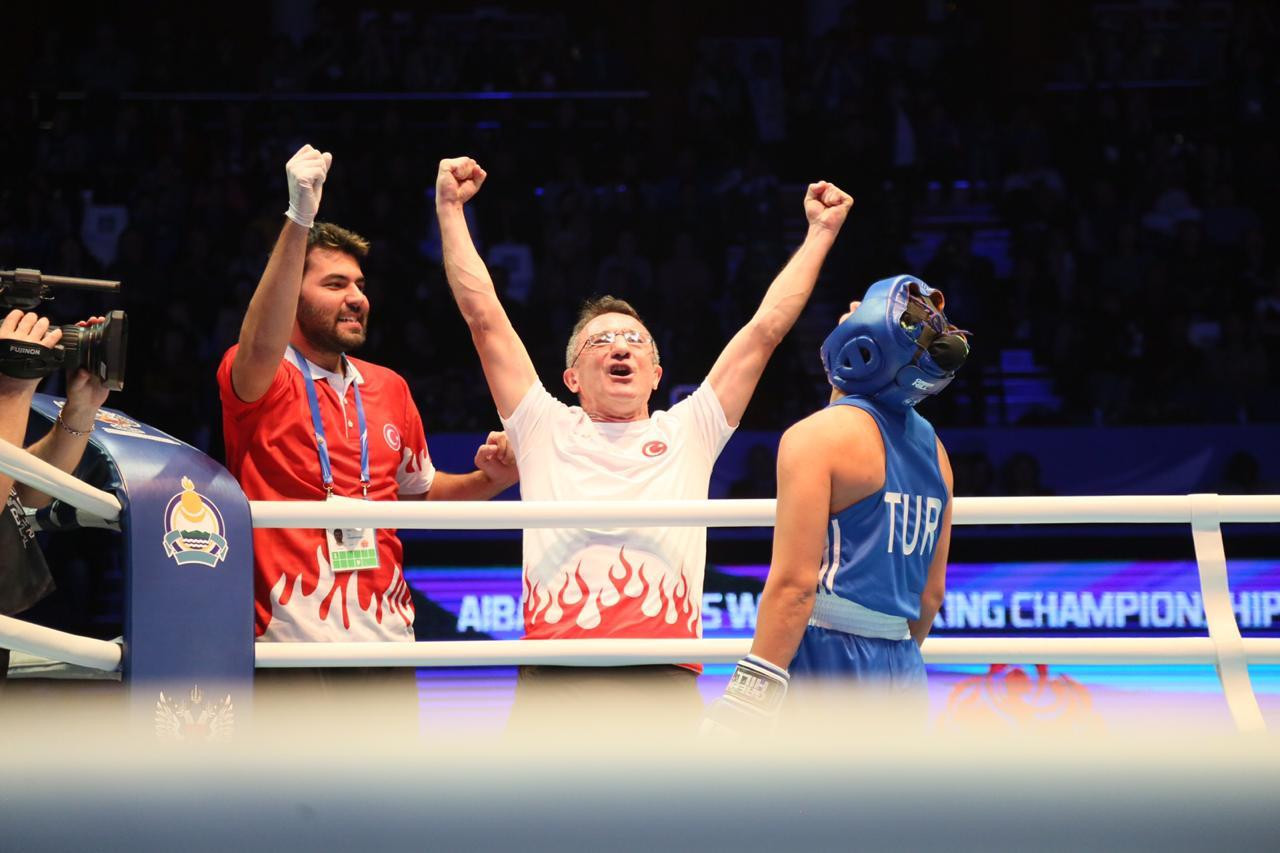 Turkey finished third, with Busenaz Sürmeneli becoming the welterweight world champion ©AIBA
