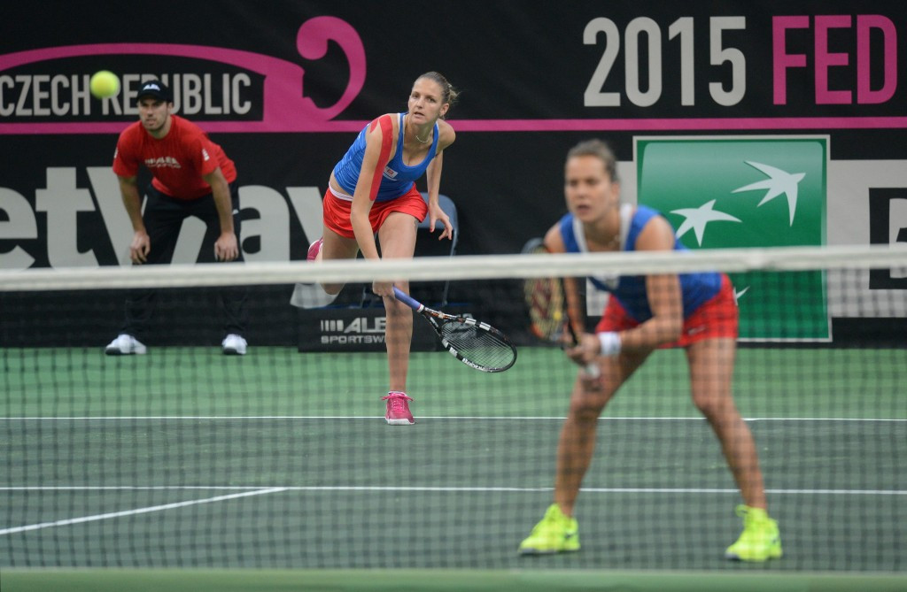 Betway were introduced as a sponsor at the Fed Cup final in Prague