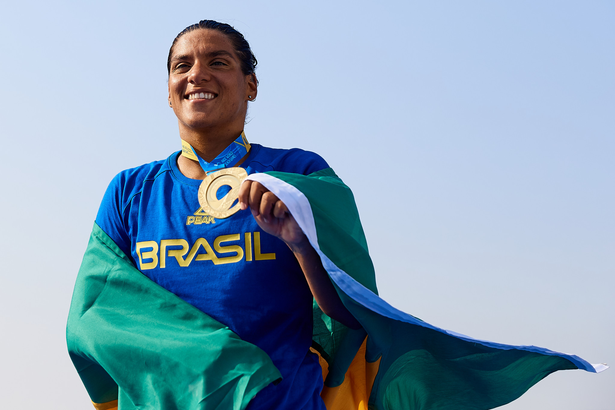 Ana De Jesus Soares of Brazil was the women's champion ©ANOC