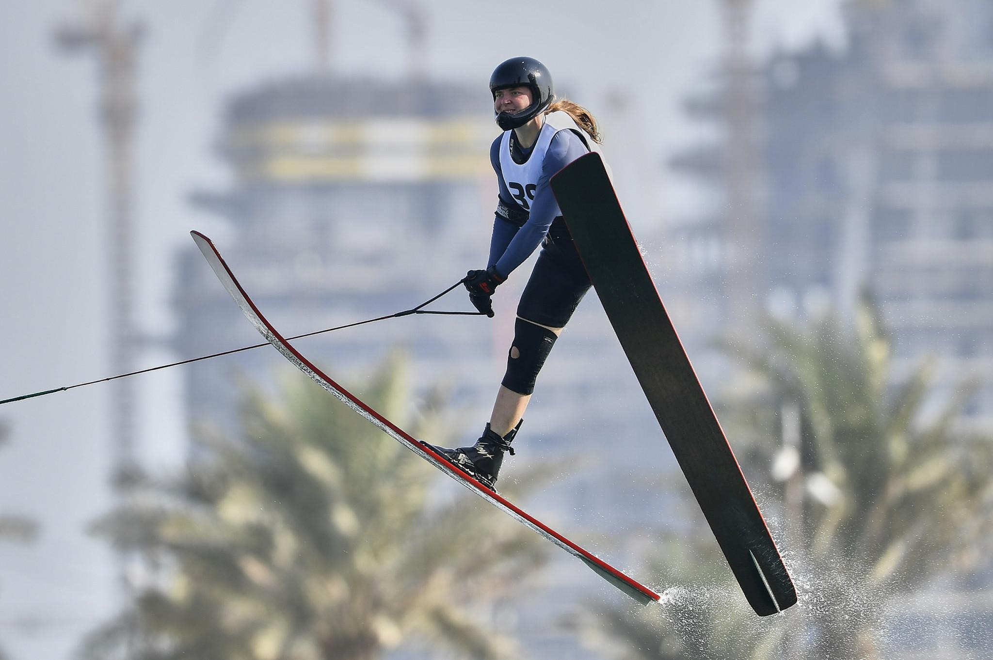 Waterski jump qualification begun ©ANOC