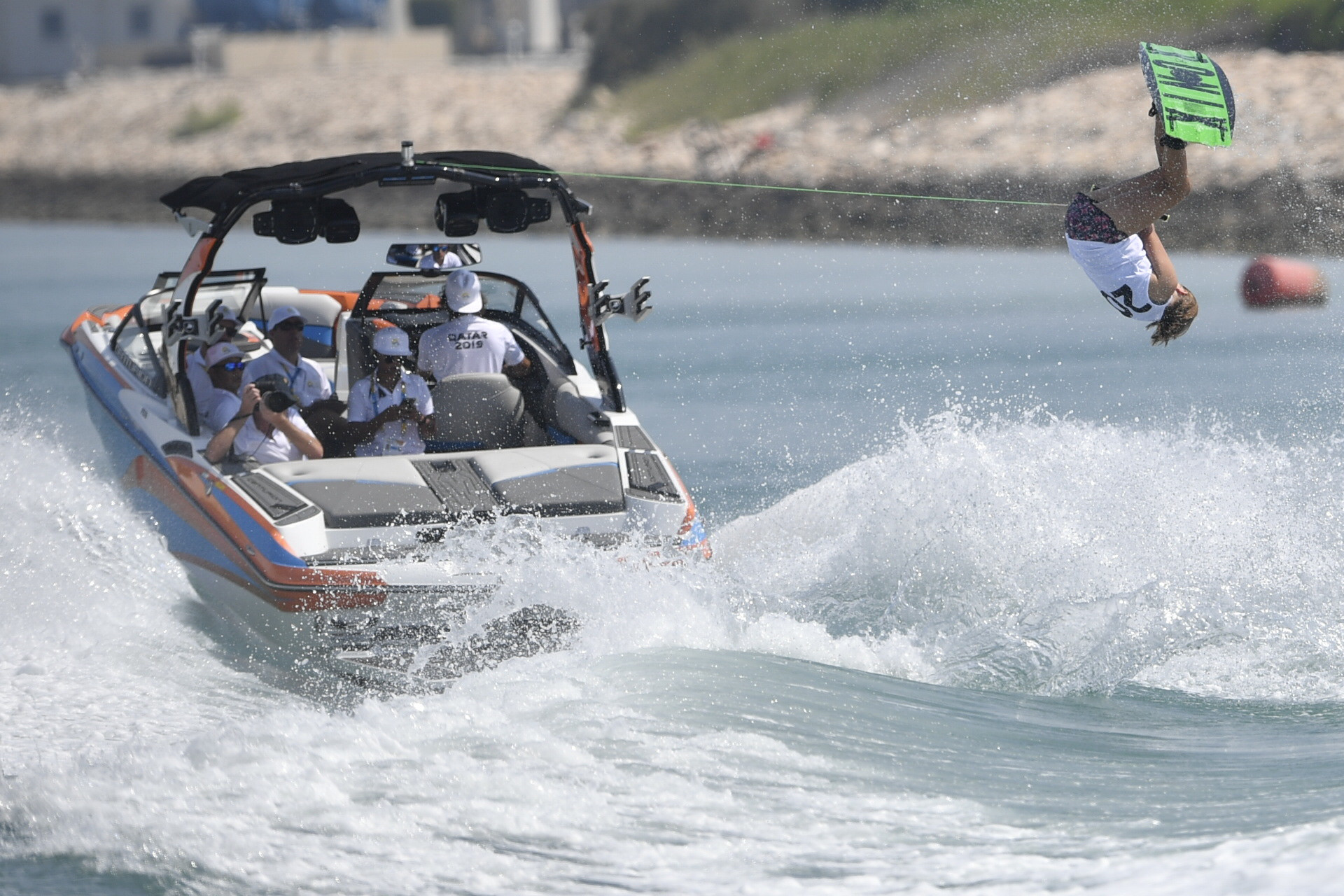 Wakeboard qualification was also held ©ANOC