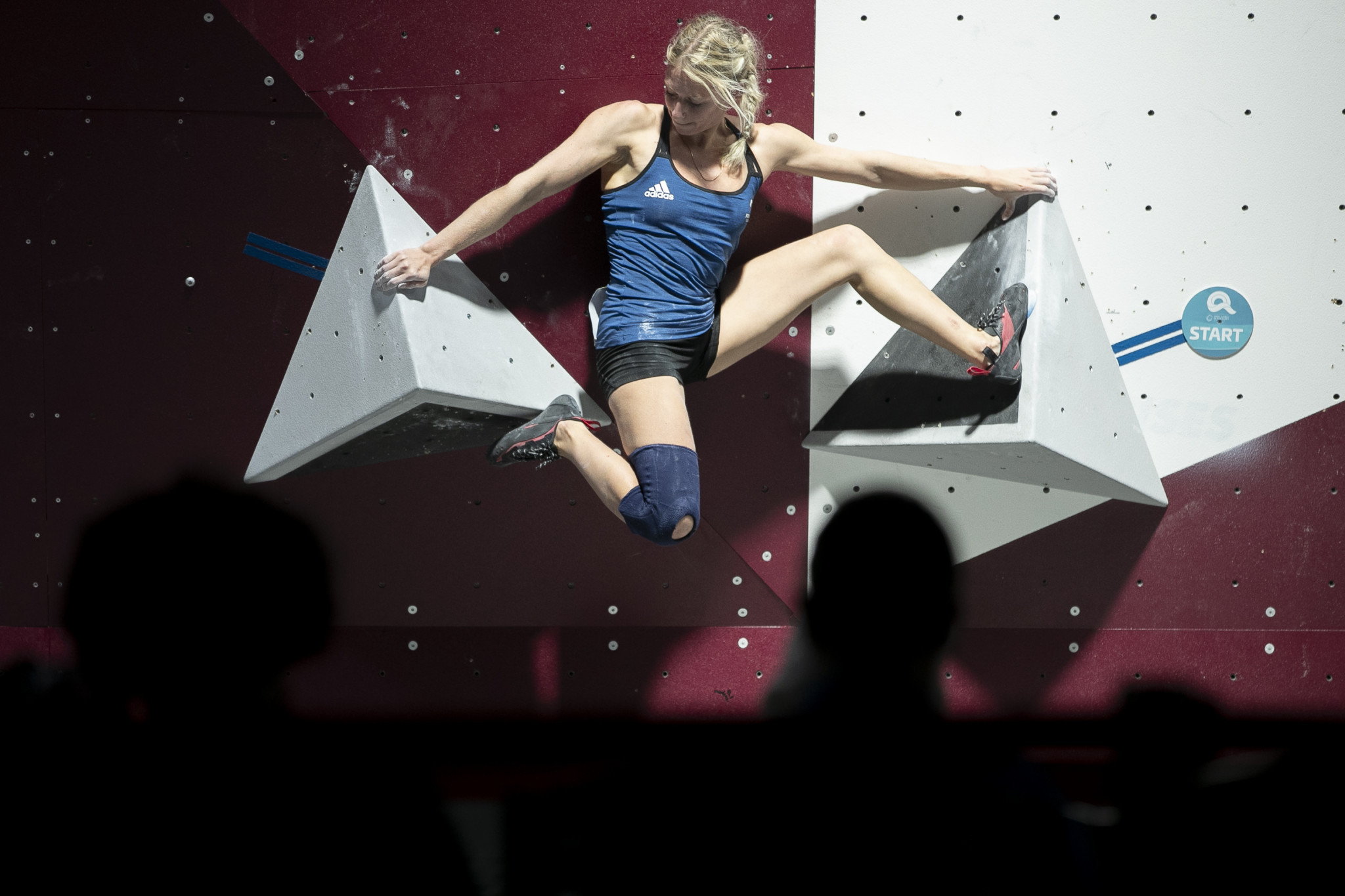 Bouldering was another sport to get underway ©ANOC