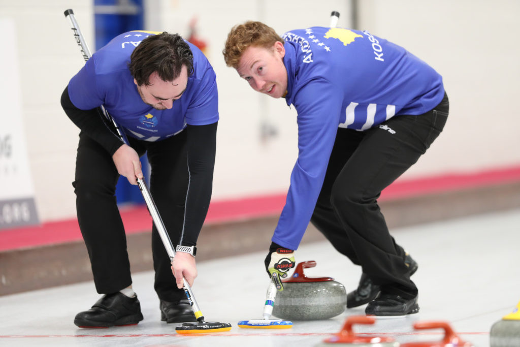 Historic victory for Kosovo at World Mixed Curling Championship