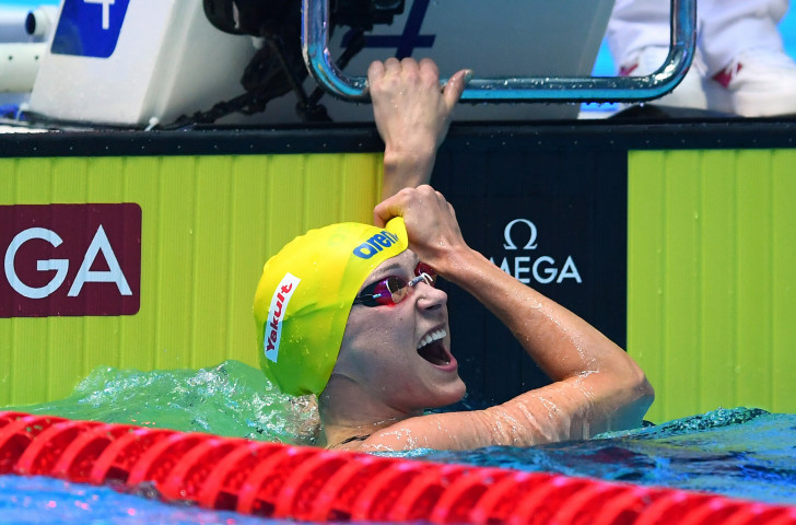 Sweden's Sarah Sjöström was a match-winner for the Energy Standard team at the second International Swimming League meeting in Naples with three victories ©Getty Images