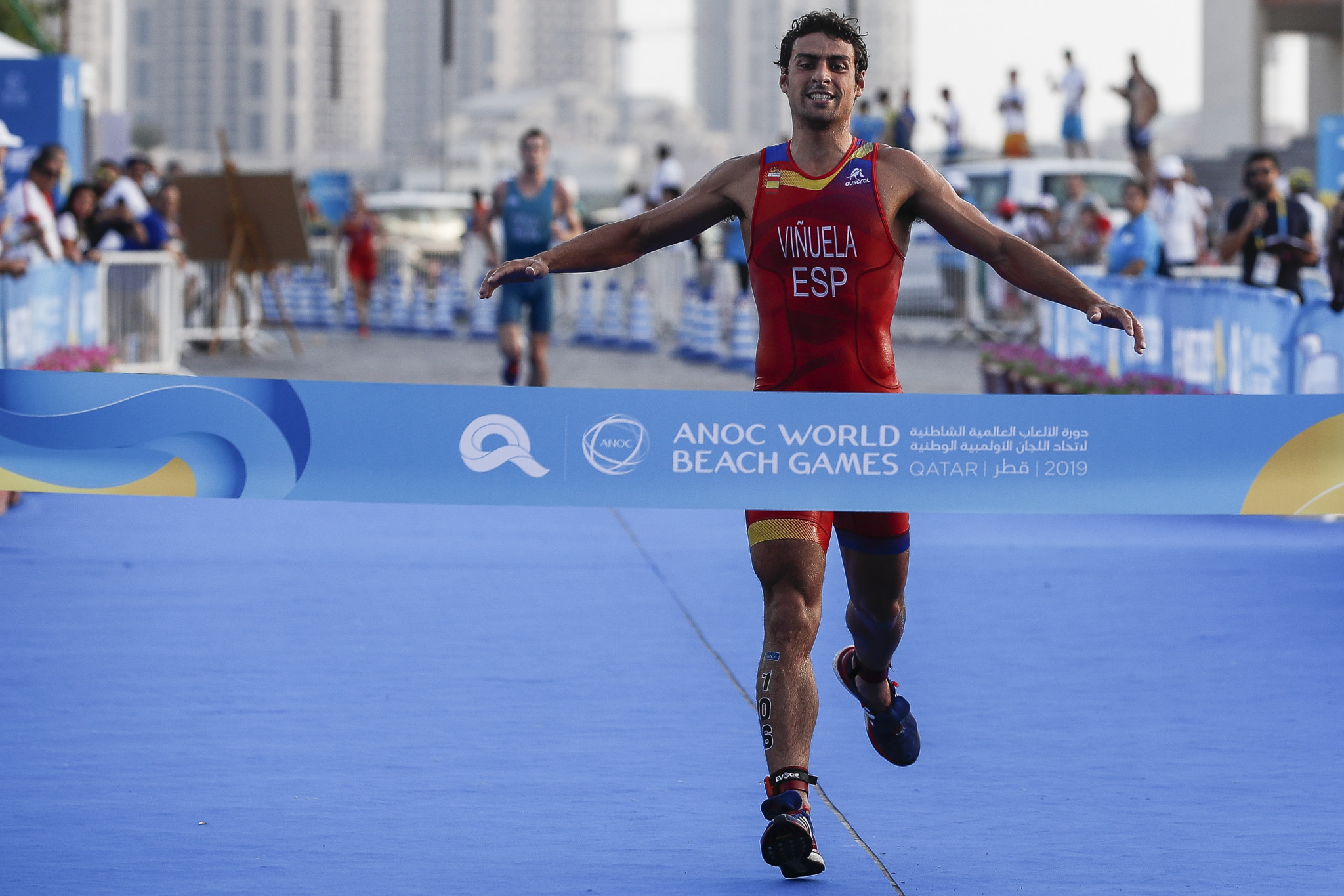 Spain complete another golden double at ANOC World Beach Games