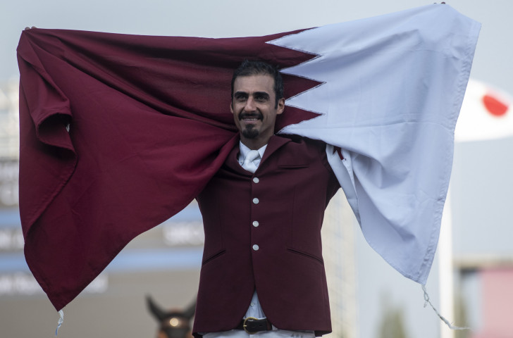 Ali Al Thani was one of the Qatar team that earned a return to the showjumping at the Tokyo 2020 Games after a first Olympic appearance at the Rio 2016 Games ©Getty Images