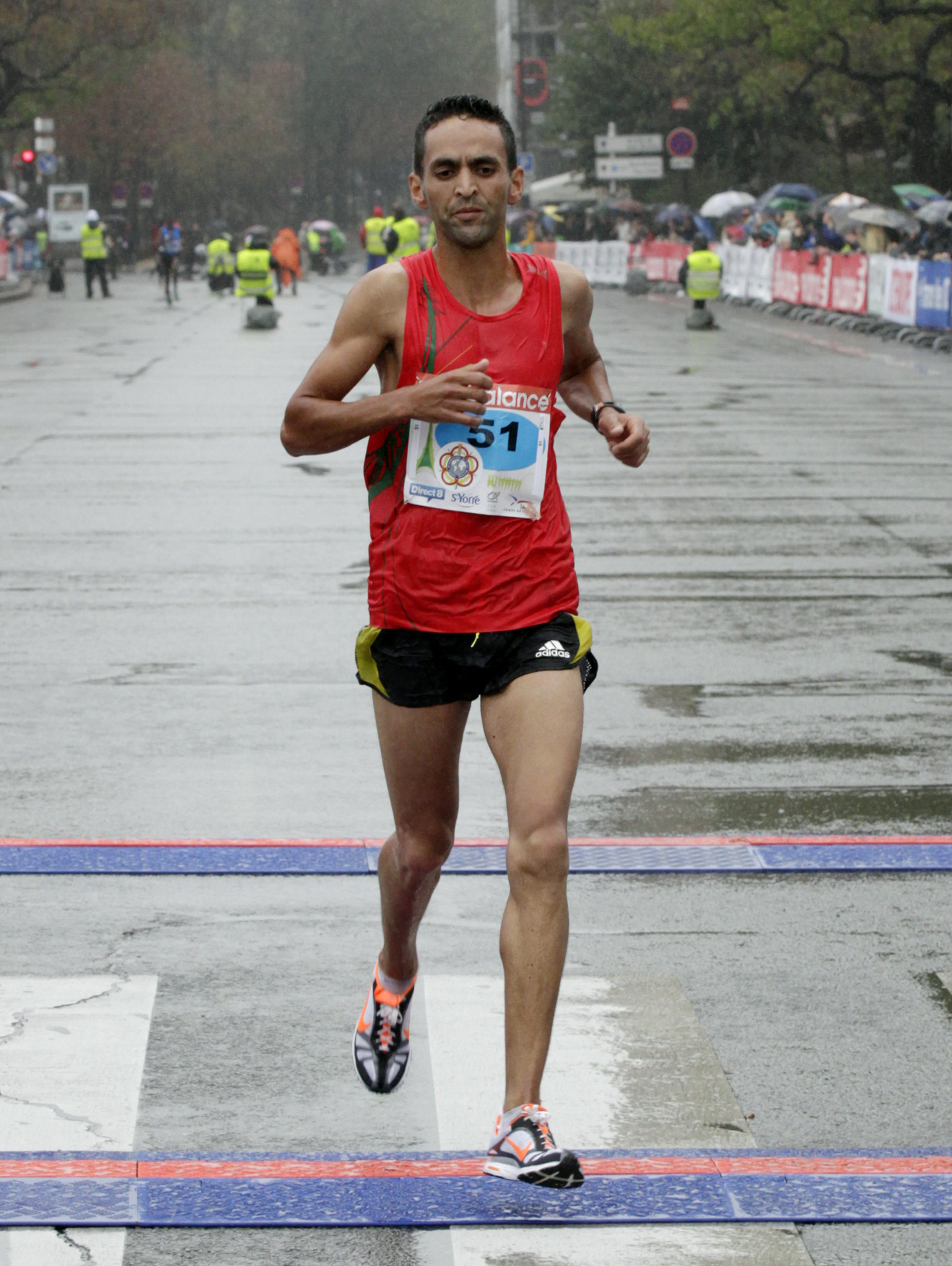 Mustapha El Aziz holds the Morocco record for the half-marathon ©Getty Images
