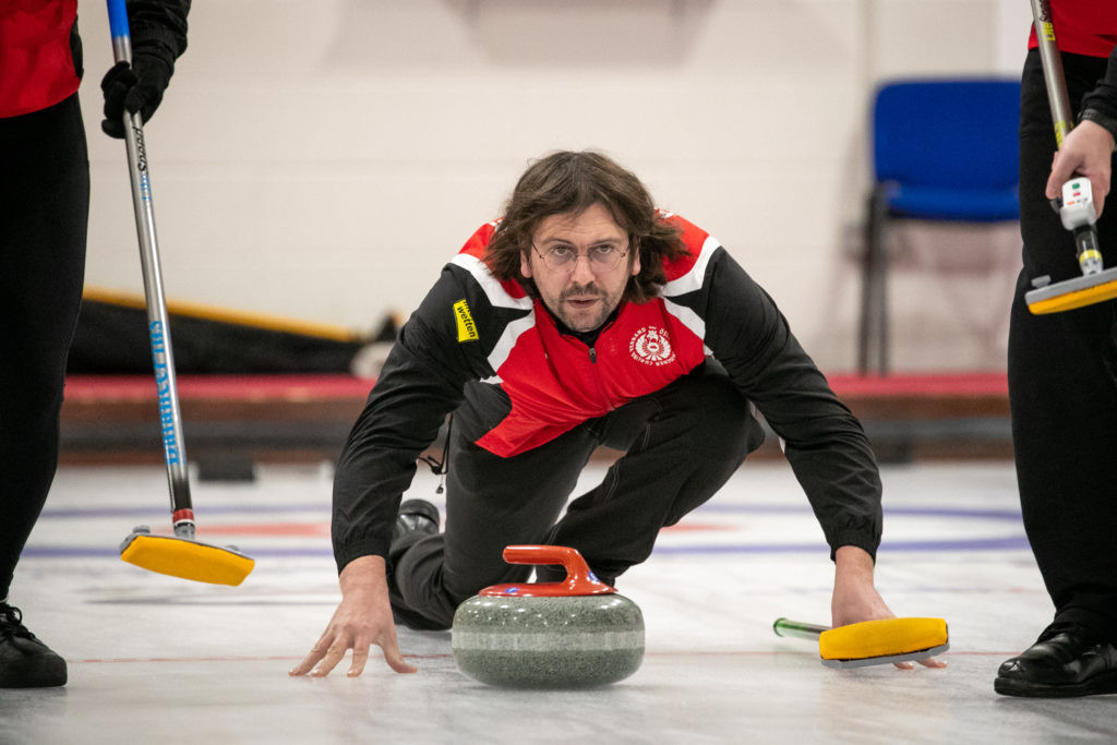 Action continued on the third day of the World Mixed Curling Championship in Aberdeen ©WCF