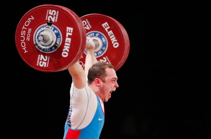 Russia's Artem Okulov secured the men's 85kg clean and jerk and overall titles