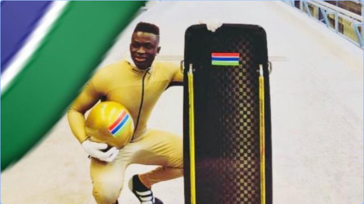 Skeleton athlete seeking funds to become The Gambia's first-ever Winter Olympian at Beijing 2022