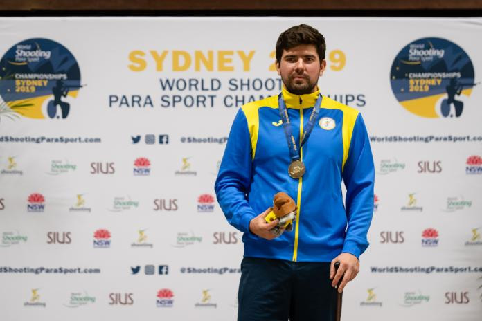 Historic win for Nystrom at World Shooting Para Sport Championships
