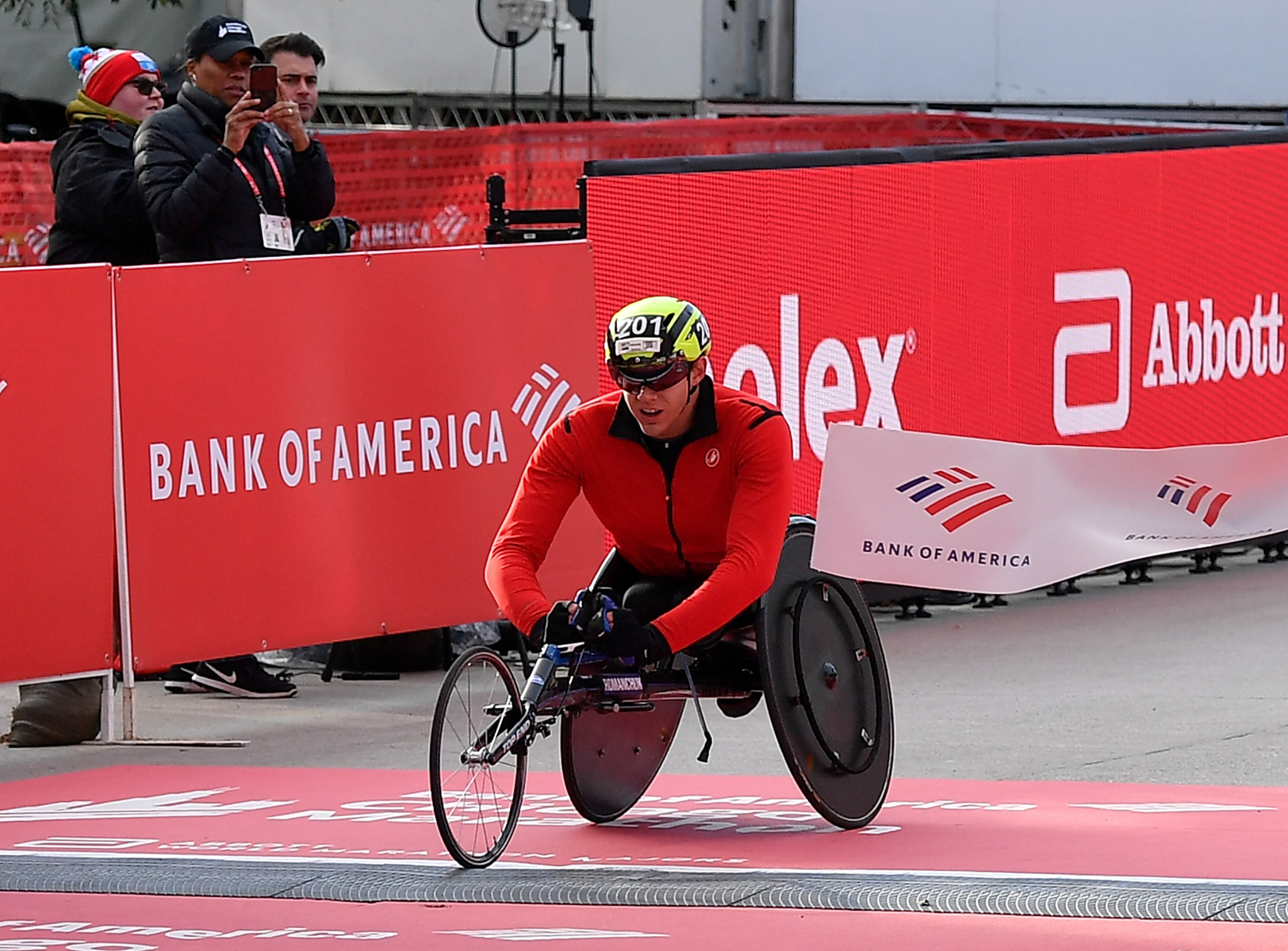 United States pick first wheelchair marathon athletes for Tokyo 2020