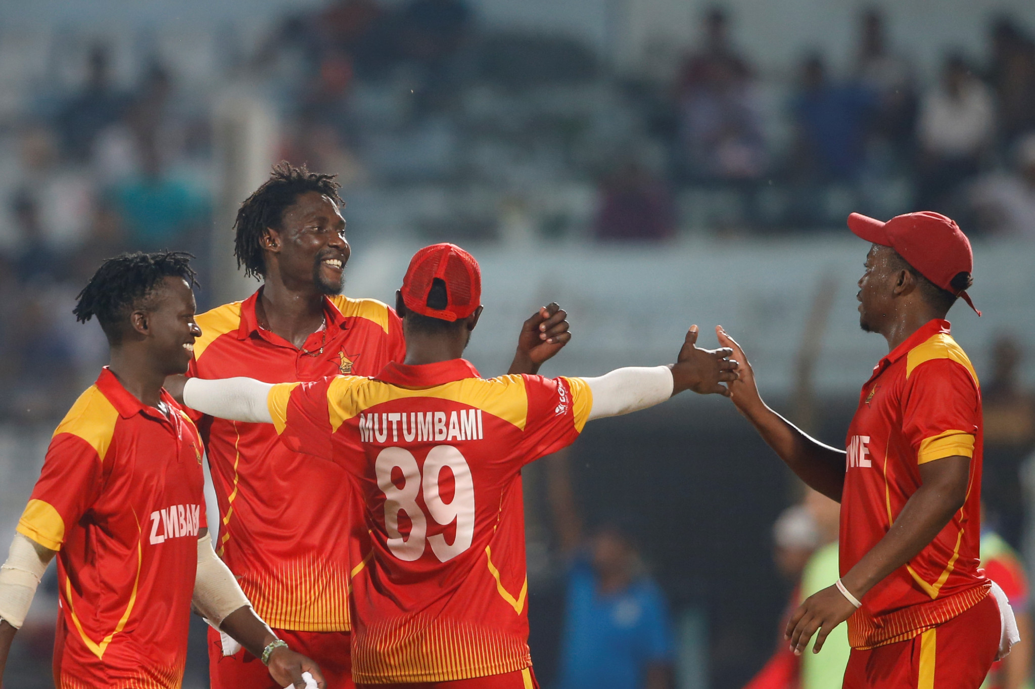 Zimbabwe's reinstatement came too late for the T20 World Cup qualifier ©Getty Images