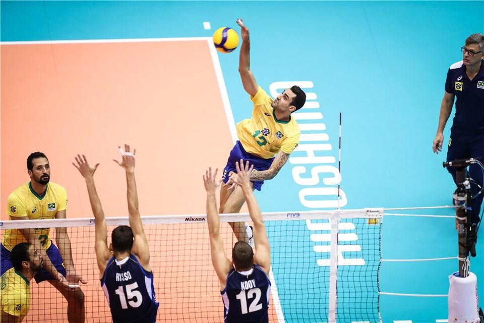 Brazil complete perfect FIVB Men's World Cup campaign with Italy win