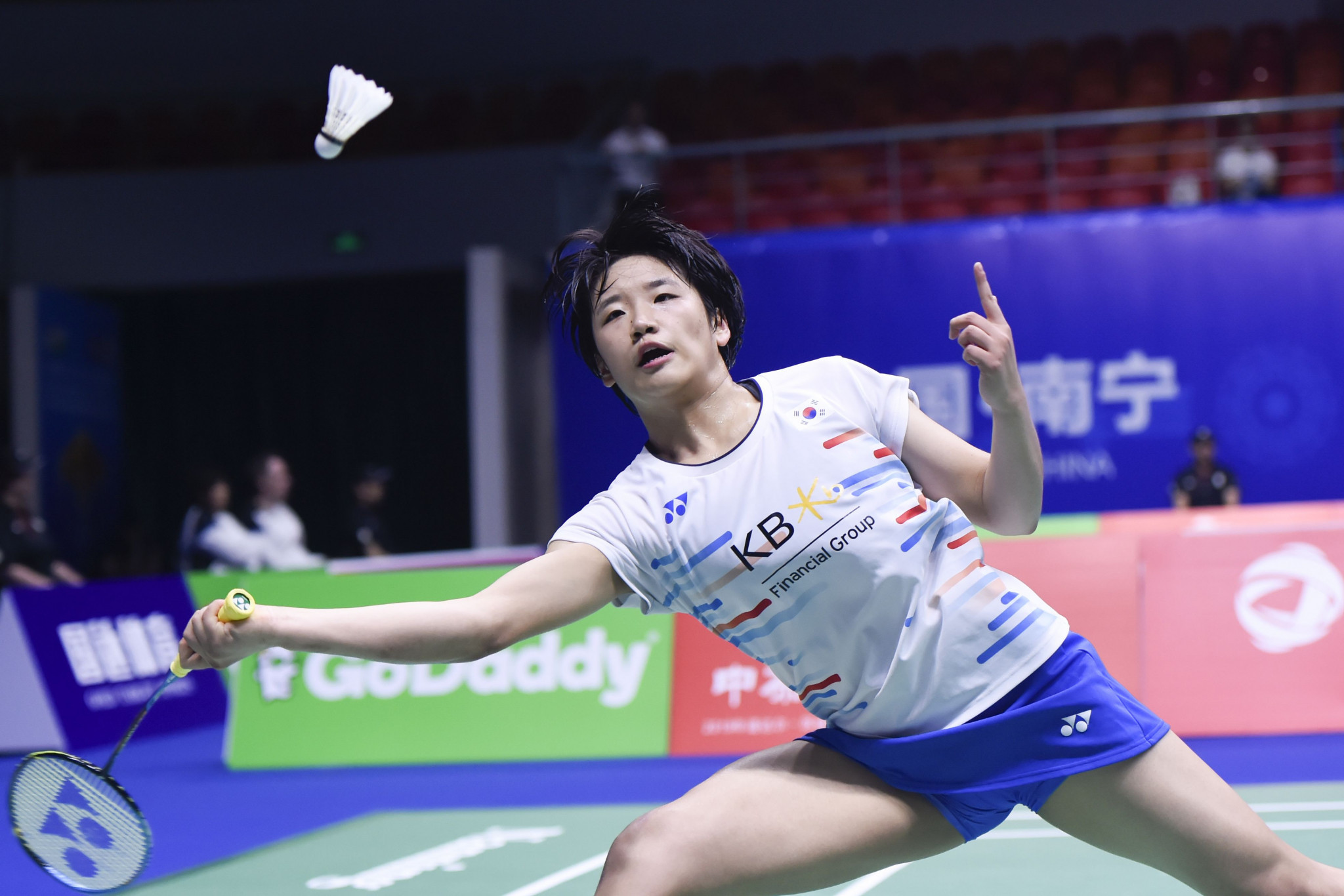 Hong Kong's Cheung Ngan Yi upset the odds to reach the second round of the BWF Denmark Open in Odense ©Getty Images