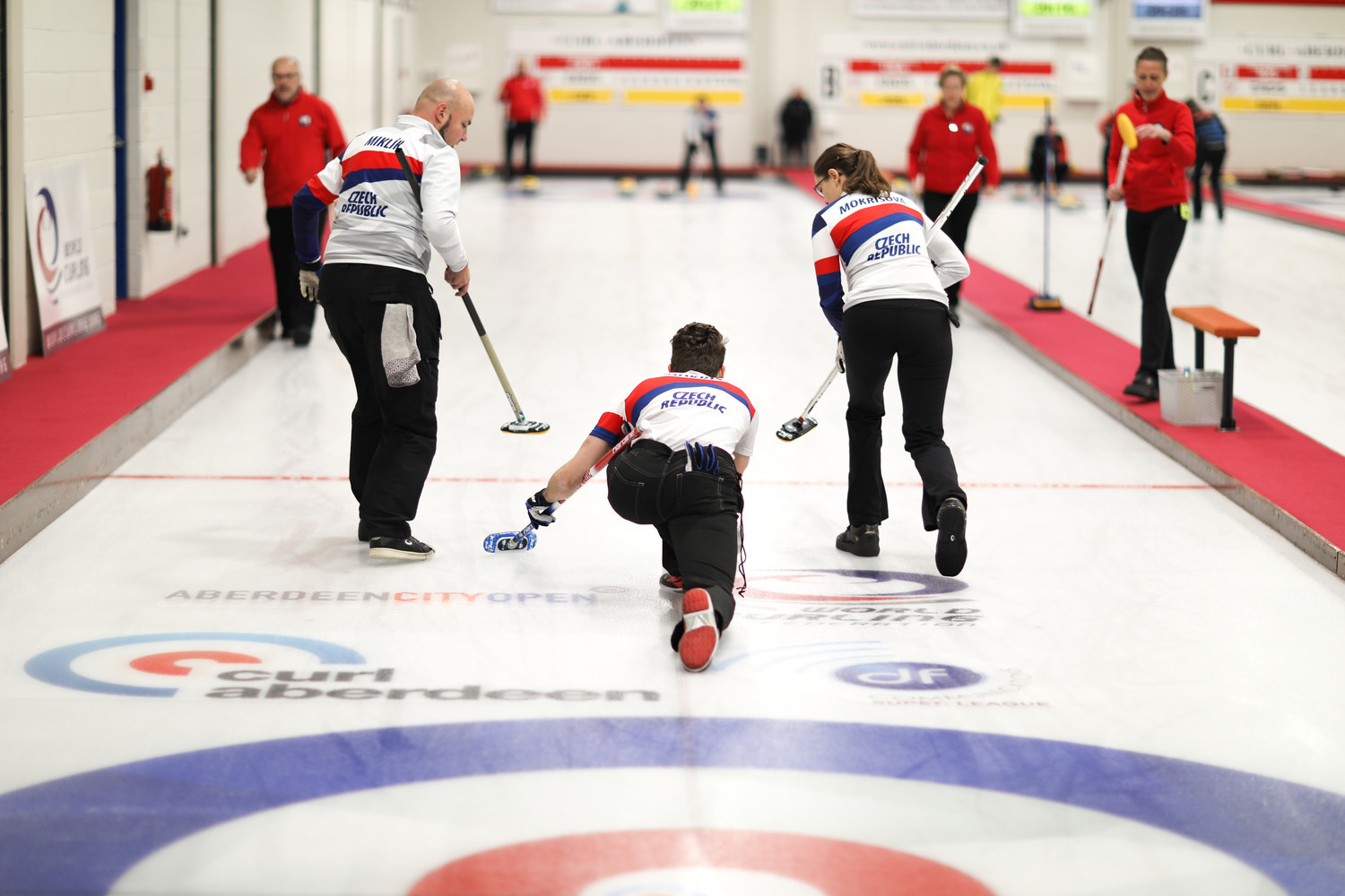 Czech Republic are in a three-way tie for first place in Group B ©WCF/Stephen Fisher