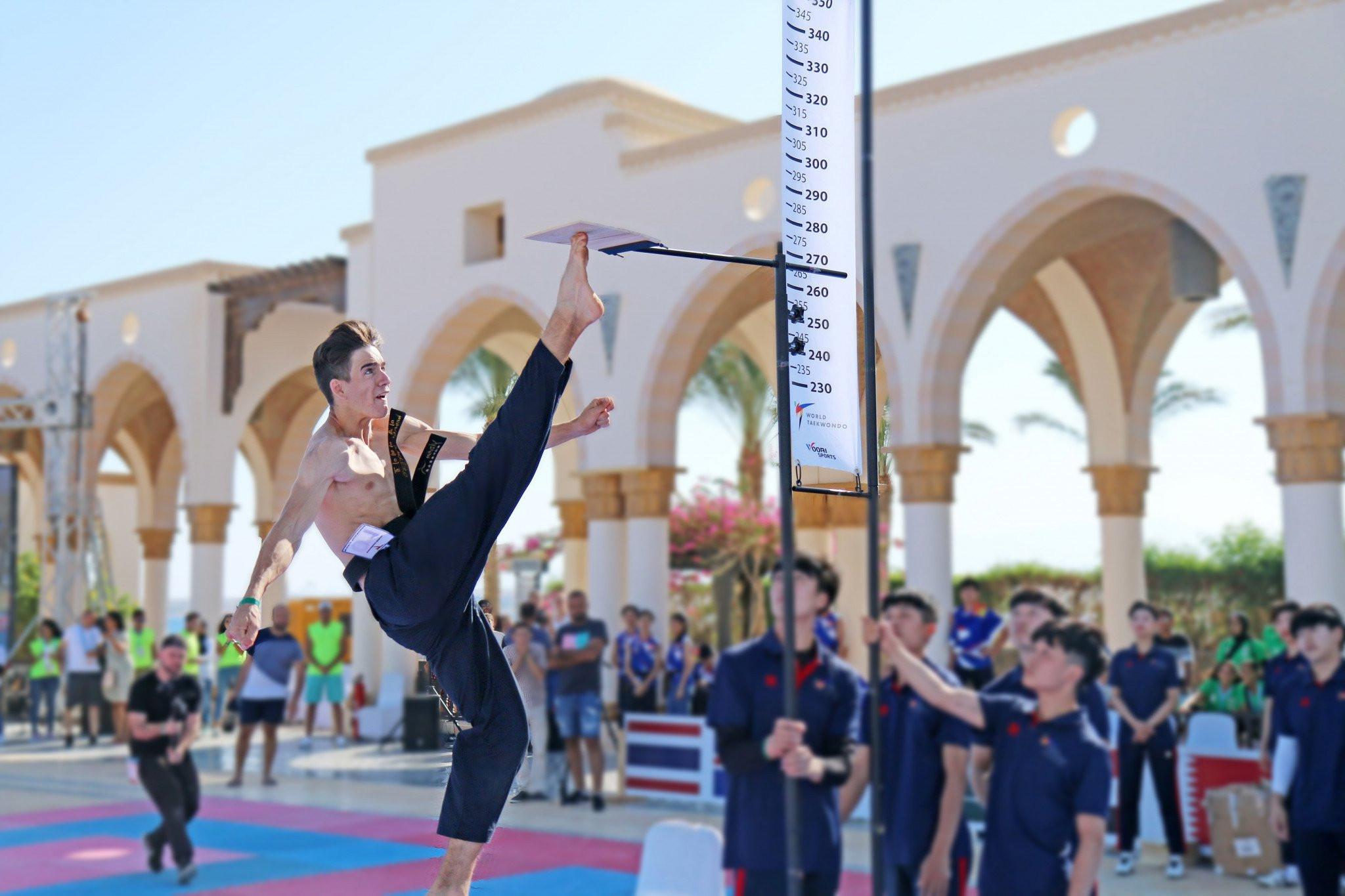 Azza Fouly was head of the Organising Committee for this year's World Taekwondo Beach Championships ©World Taekwondo