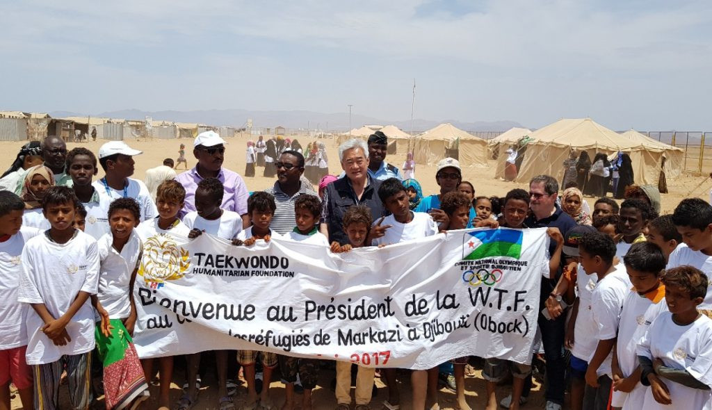 Taekwondo Humanitarian Foundation to expand in Djibouti and Rwanda
