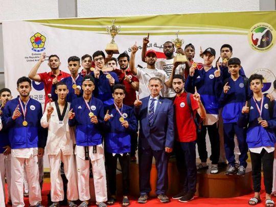 UAE taekwondo players shine at Emirates-Korean Championship in Sharjah