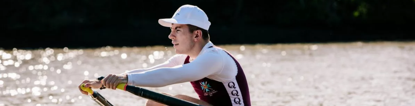 Russell among Australian rowers tasting victory at INAS Global Games