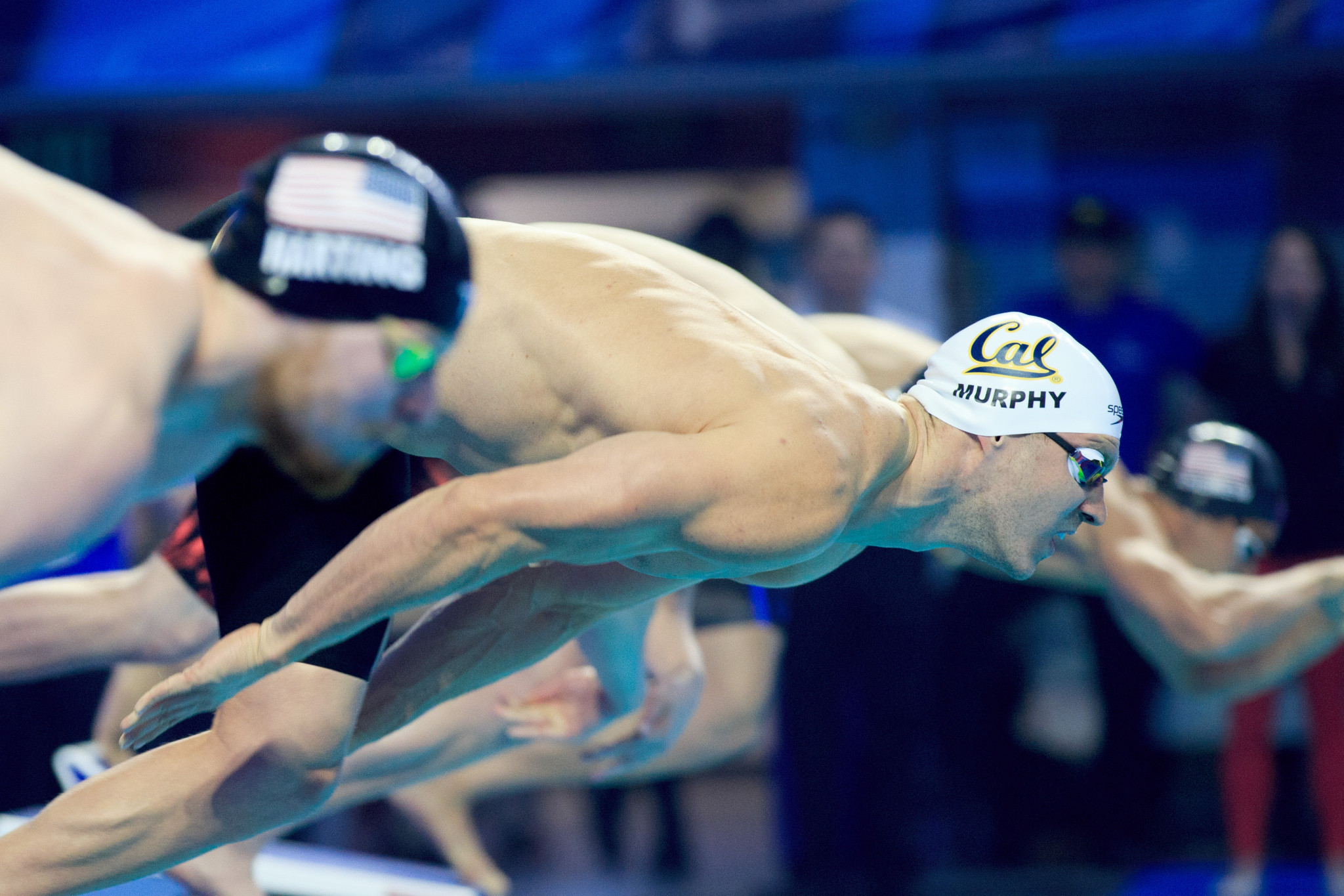 Three-time Olympic gold medallist Ryan Murphy competed at the FINA Champion Swim Series in Indianapolis this year, but he won't be back there in 2020 ©Getty Images