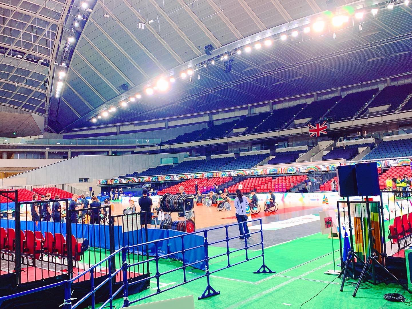 The Tokyo Metropolitan Gymnasium will host table tennis at the Olympic and Paralympic Games next year ©GBWR/Twitter