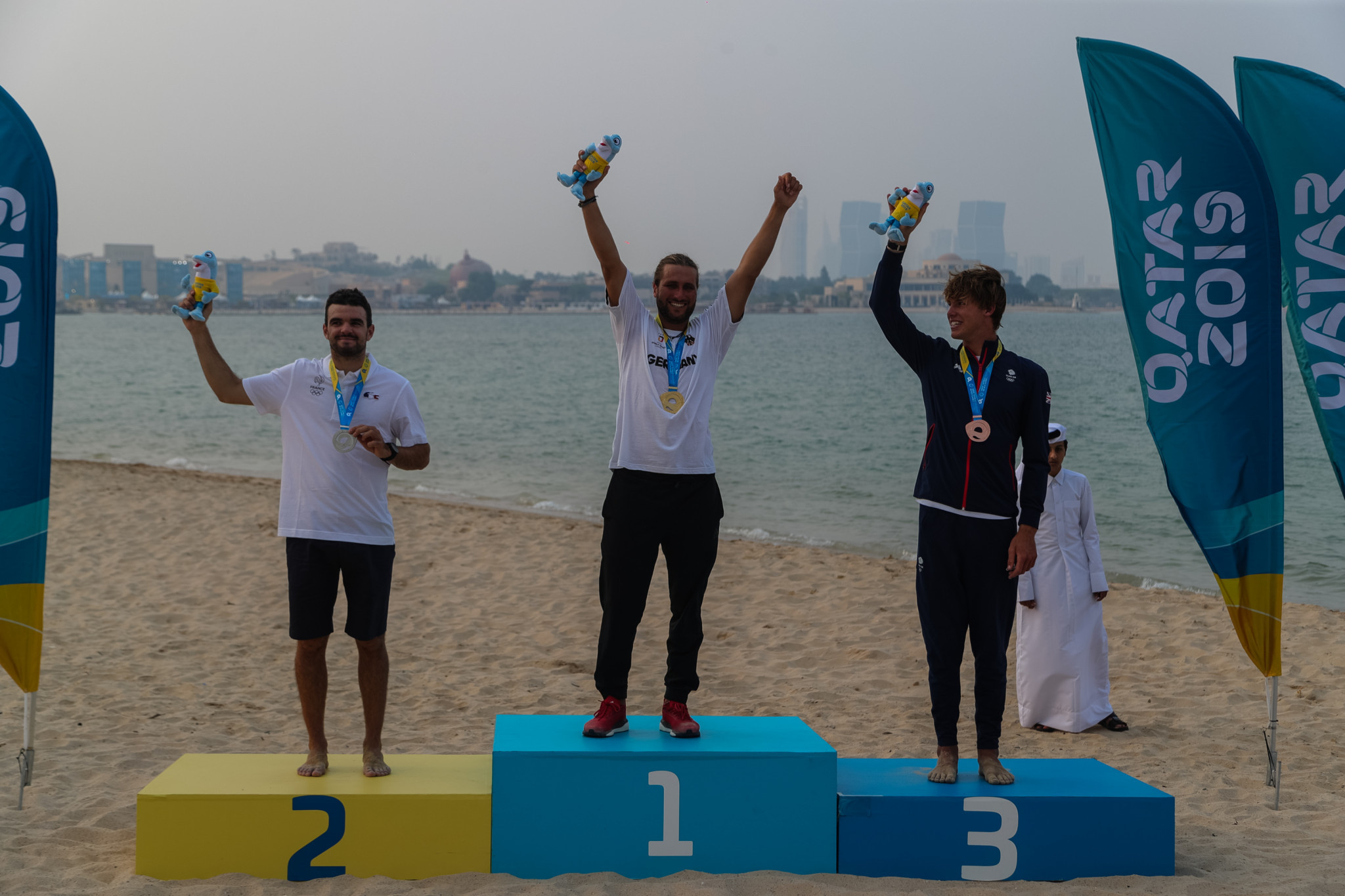 Kitefoil gold for Gruber at ANOC World Beach Games