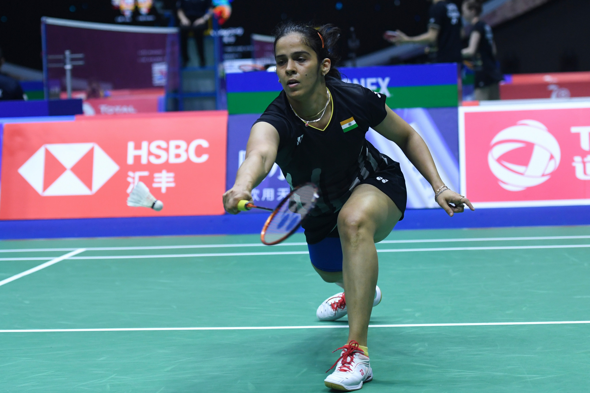 India's Saina Nehwal is out of the BWF Denmark Open in Odense ©Getty Images