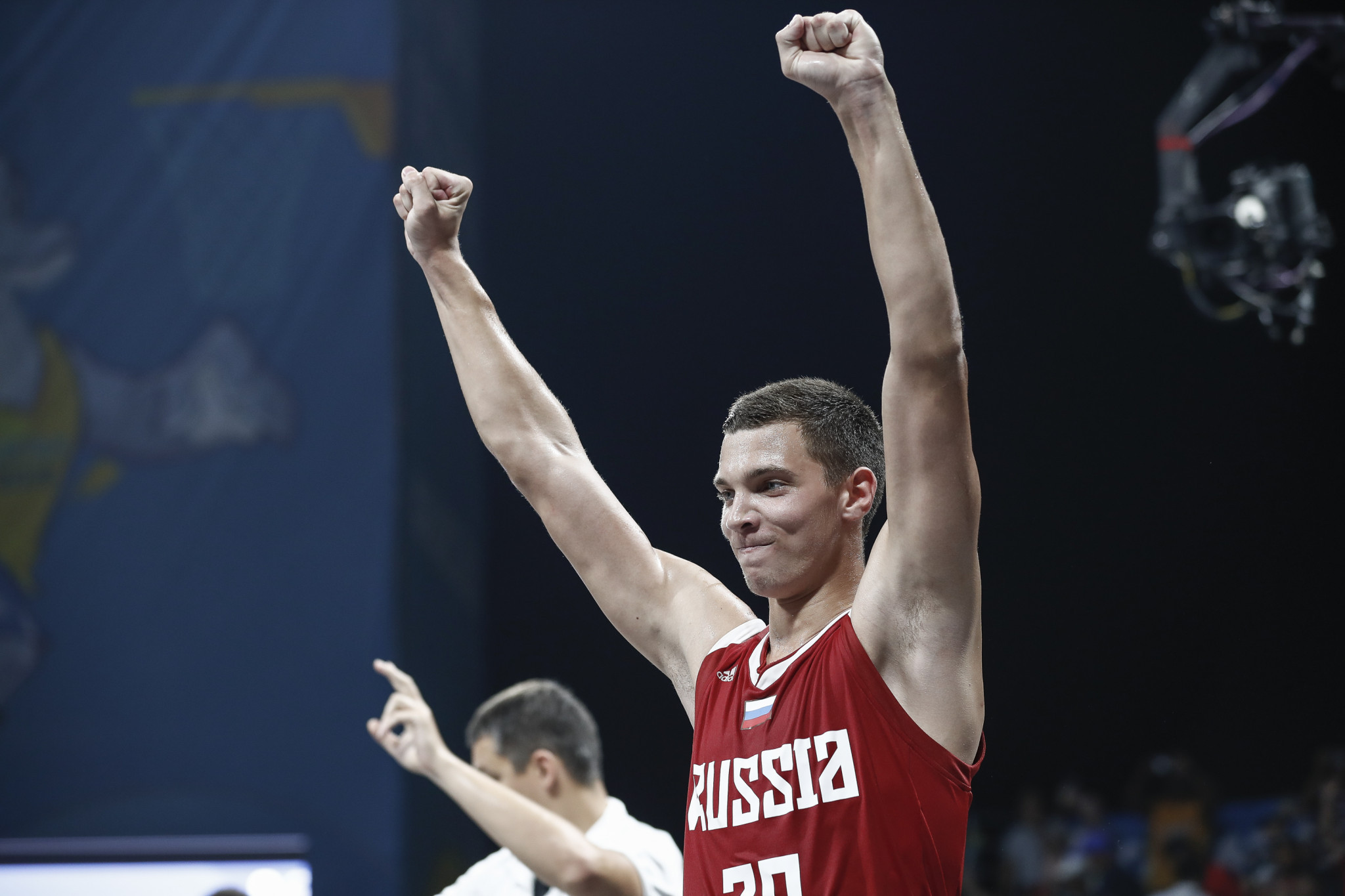Russia won the men's 3x3 basketball crown ©ANOC