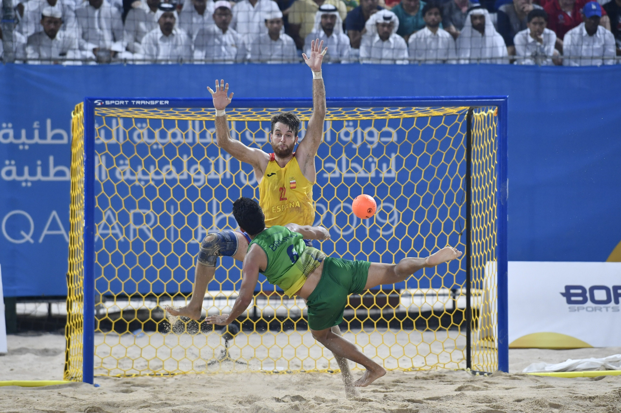 Brazil and Denmark crowned handball champions at ANOC World Beach Games