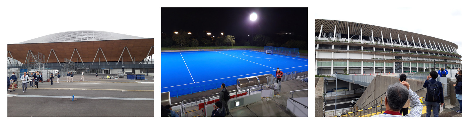 Updates were provided on construction at Ariake Gymnastics Centre, Oi Hockey Stadium and the Olympic New National Stadium during the venue tours ©ITG