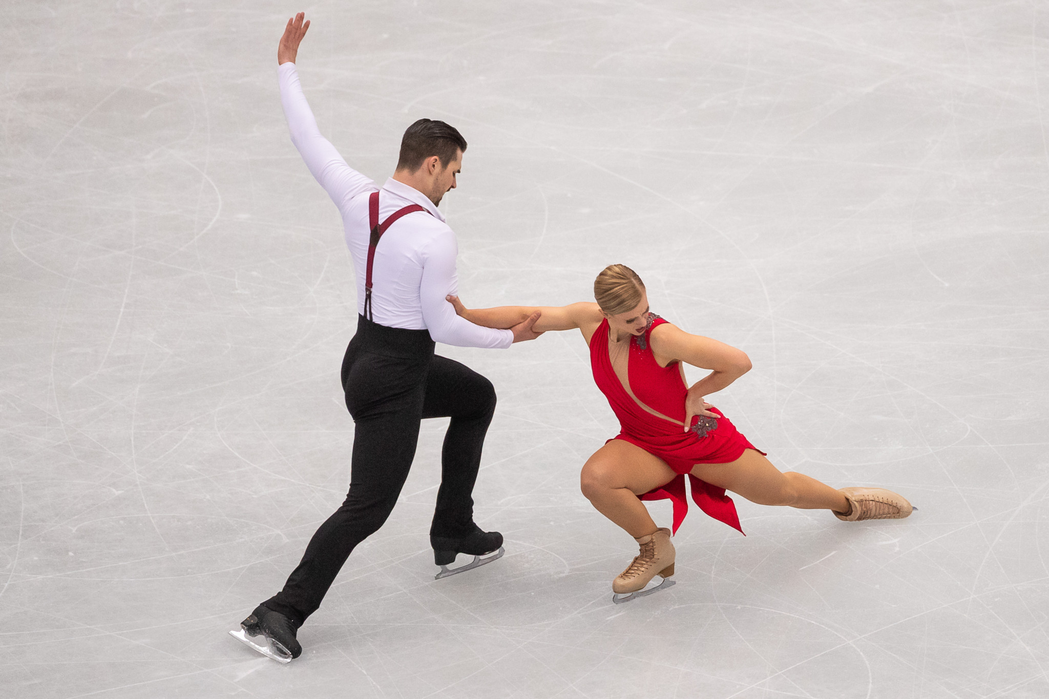 Madison Hubbell and Zachary Donohue will be another draw for home American fans ©Getty Images