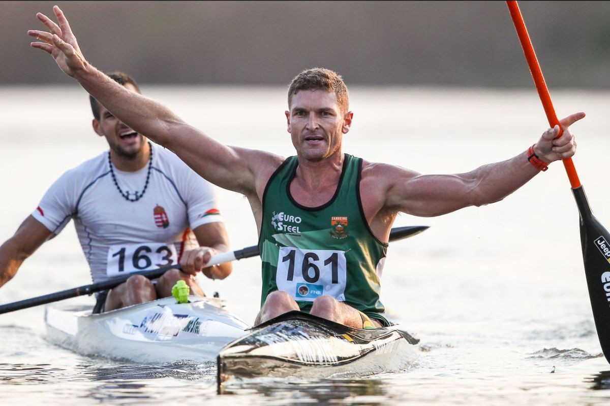 South Africa's Hank McGregor has had to call off his quest for a sixth K1 ICF marathon title because he is suffering from shingles ©Getty Images