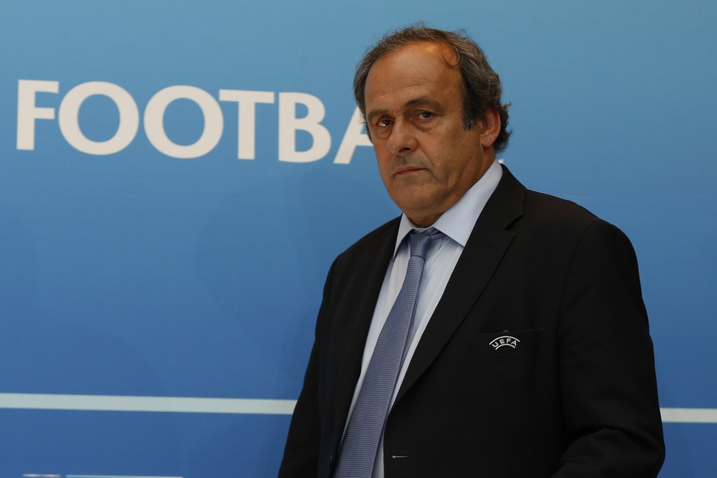 UEFA President Michel Platini had been one of the officials to indicate he would not return the watch