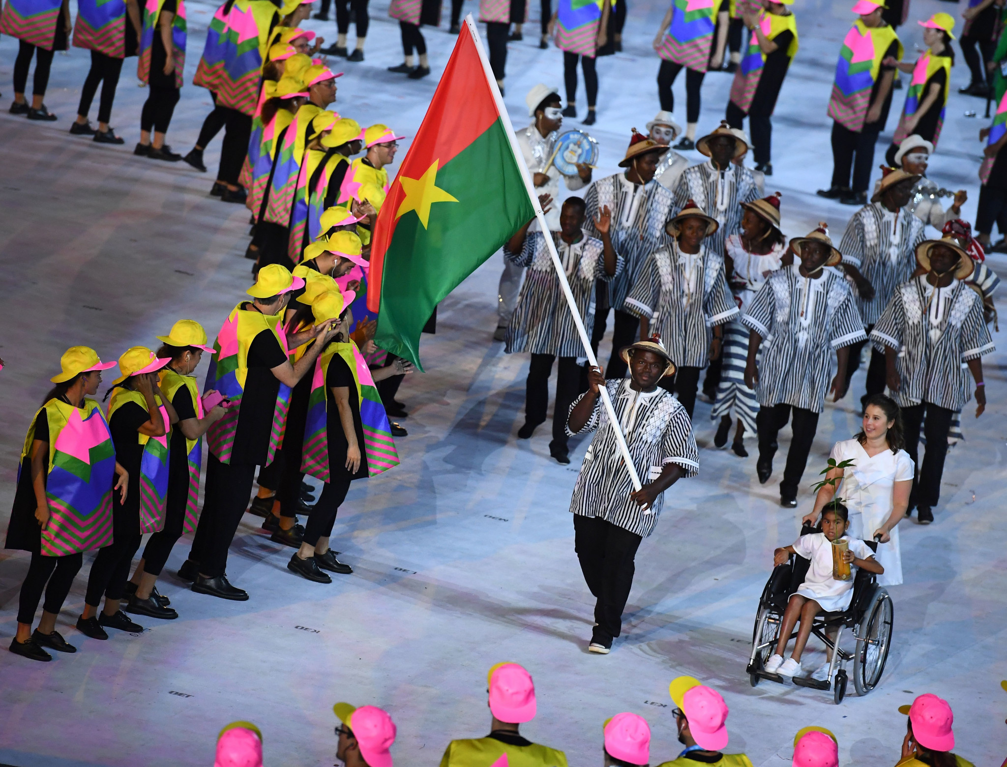 Burkina Faso has never hosted the African Games  ©Getty Images