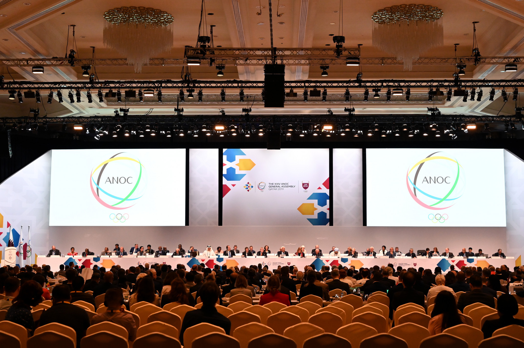 The ANOC General Assembly opened in Doha ©Getty Images