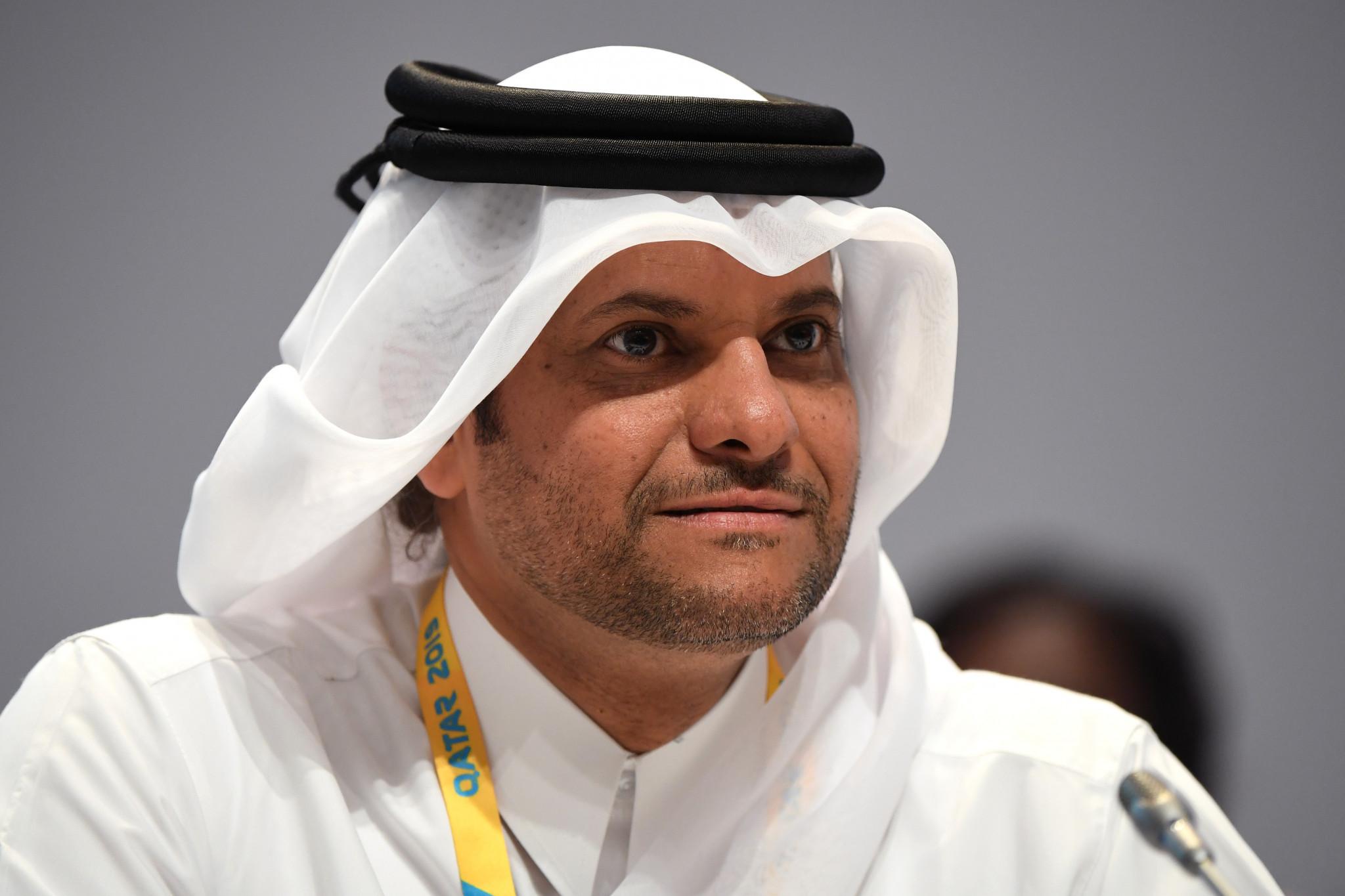 Qatar's Sheikh Saoud Bin Abdulrahman Al-Thani was among those looking on ©Getty Images