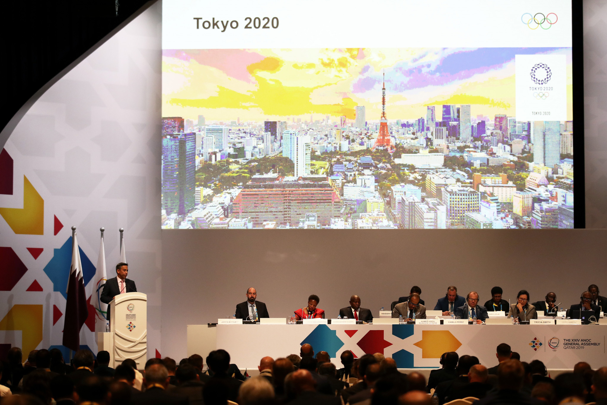 Delegates were updated on the Tokyo 2020 Olympics ©Getty Images