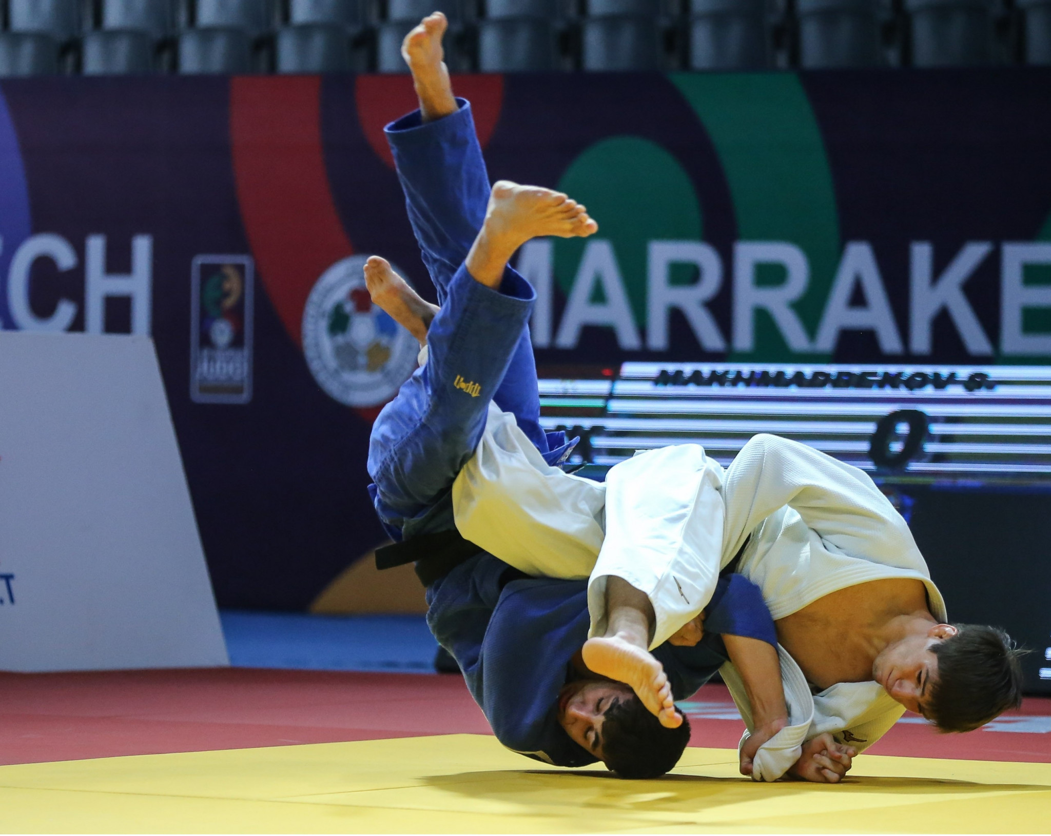 Tajikistan's Somon Makhmadbekov topped the men's under-73kg podium ©IJF