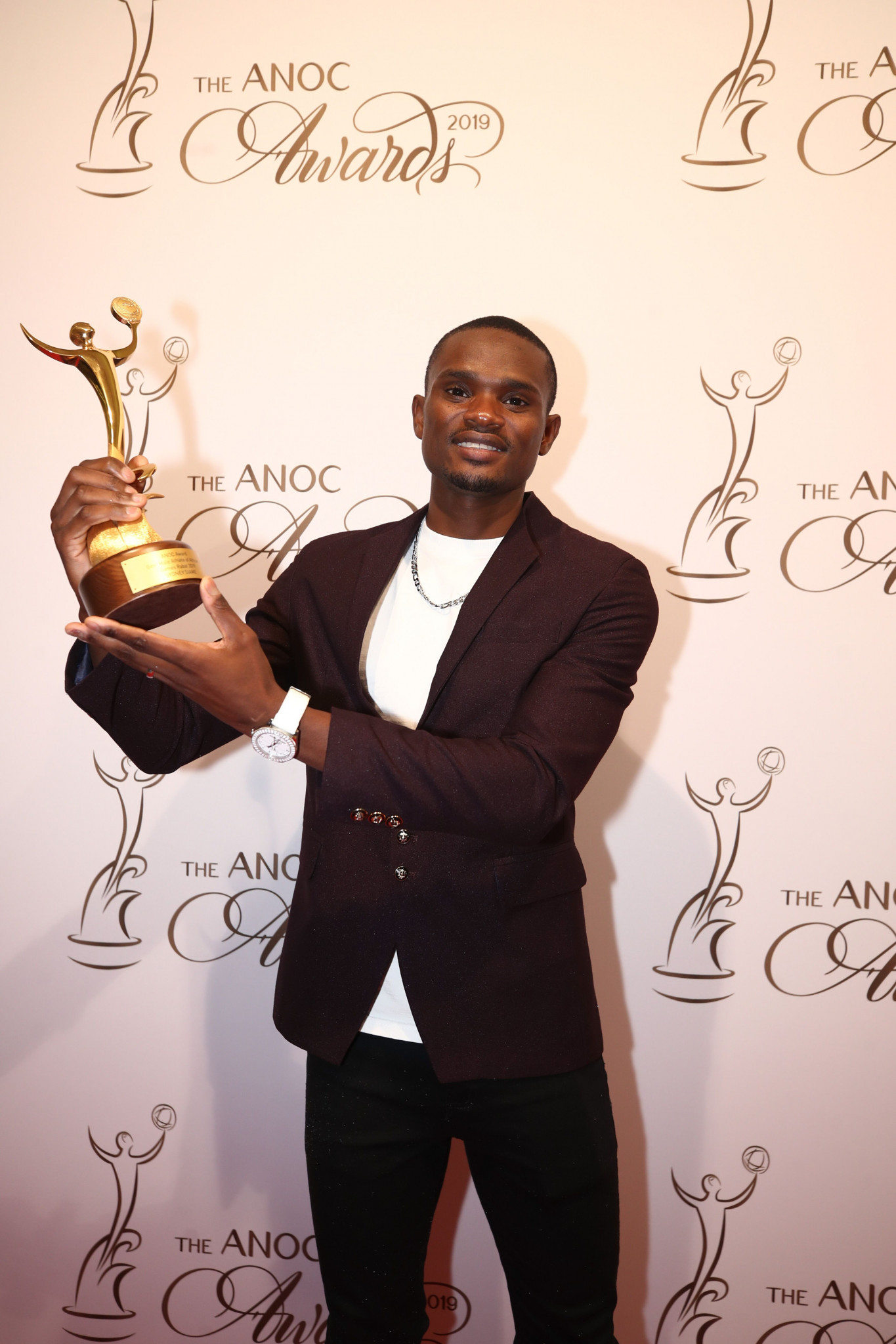 Zambian sprinter Sydney Siame was named as the best male athlete of the African Games ©ANOC
