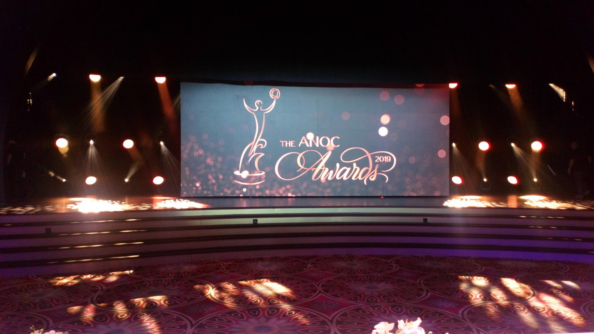 A lavish awards ceremony was held ©ITG