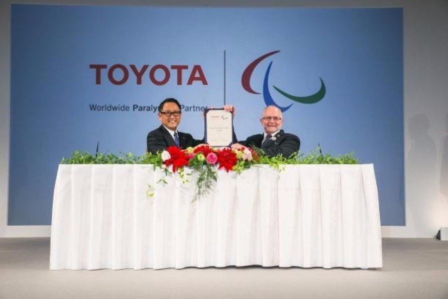 Toyota announced as sixth Worldwide Paralympic Partner in