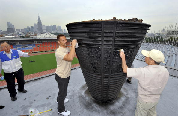 Refurbished 1964 cauldron to be displayed by Tokyo 2020 Olympic Stadium