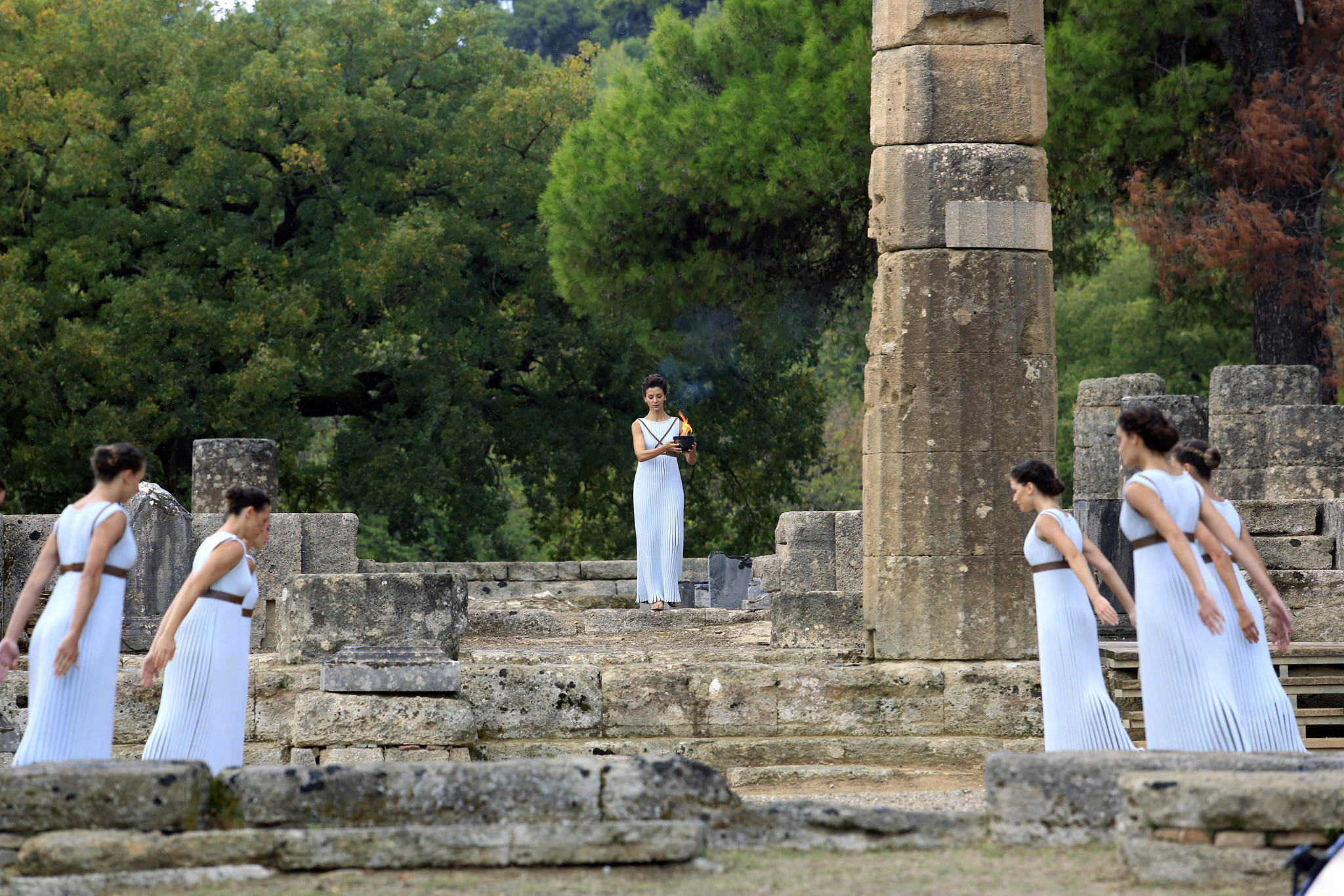 Ancient Olympia, where it all began ©Getty Images