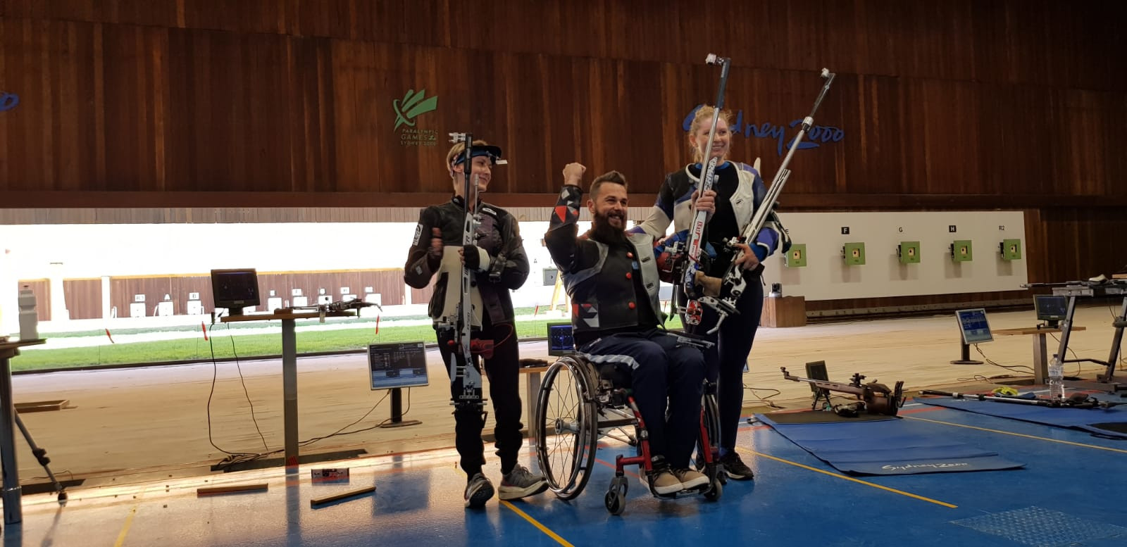 Skelhon secures second gold on final day of World Shooting Para Sport Championships