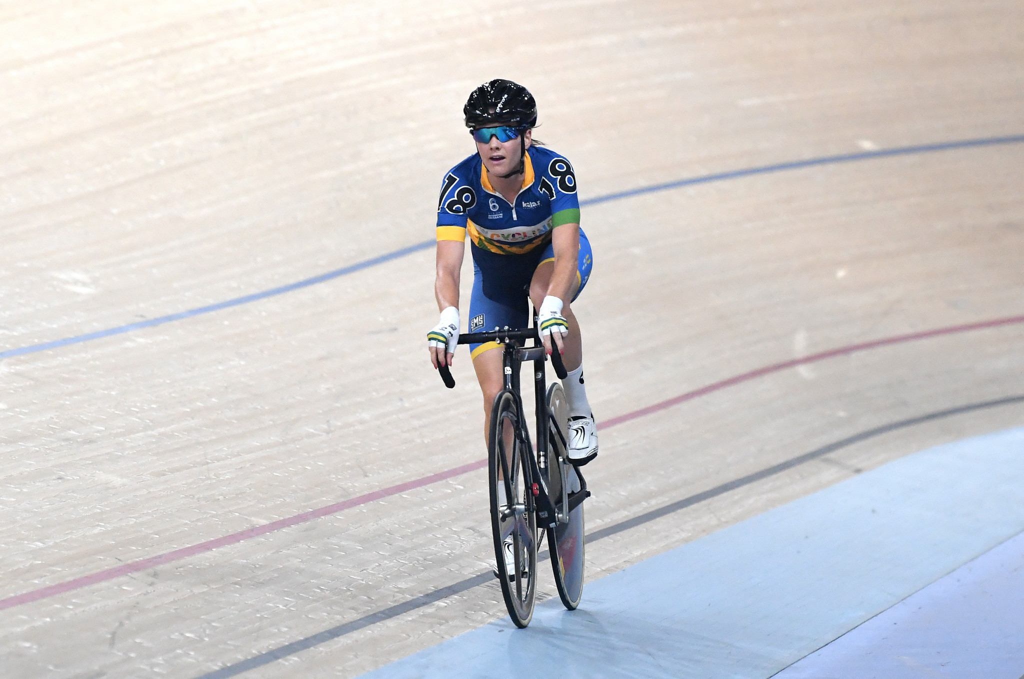 Cure adds to list of major honours with points triumph at Oceania Track Cycling Championships